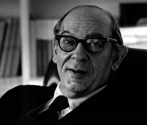 Photograph 01: Isaiah Berlin by Clive Barda